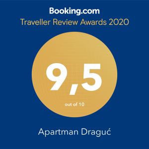 draguc booking award 2020